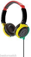 Skullcandy Phase 2XL X6FTFZ-810 Headband DJ Style Headphones Over Ear Cups Rasta