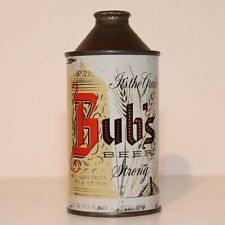 New ListingBubs Beer Cone Top - Over 90 Years - Strong