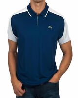 LACOSTE SPORT MENS POLO SHIRT - 4XL T9 - BLUE - ULTRA DRY - DH9480