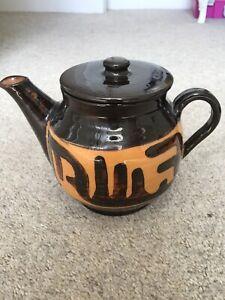 Studio Pottery Teapot BH 1/32 Winchcombe