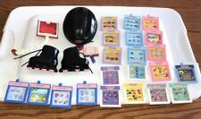 Amazing Ally Interactive Doll Lot of 21 Book Cartridges Cards, Helmet, Skates  00004000