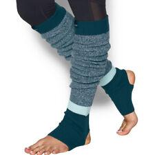 Under Armour UA ColdGear Ladies Essentials Warm Womens Sports Teal Leg Warmers