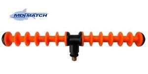 MDI Match 12 Position Feeder Rod Rest Orange- Designed for All Tip Work