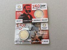 1 pièce de 2 € Belgique 2014 - 150 ans Croix Rouge