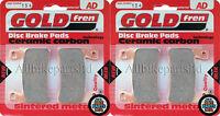 GOLDFREN FRONT BRAKE PADS (2x Sets) for: HONDA CBR 600 SPORT 2001-2002 CBR600-F