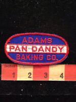 Vtg (Circa 1970s) ADAMS PAN DANDY BAKING COMPANY Advertising Patch BAKERY 81F2