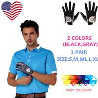 Mens Golf Gloves Pair Rain Grip Pr L Large XL Both Left Right Hand Value Pack US