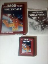 ATARI 2600 BOXED REALSPORTS VOLLEYBALL complete