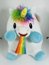 Unicorn Vomiting/Throwing Up Rainbows Plush Squishmallow Clone Fiesta Brand NWT!