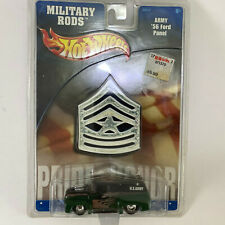 ARMY '56 Ford Panel Truck - Hot Wheels Military Rods 2002