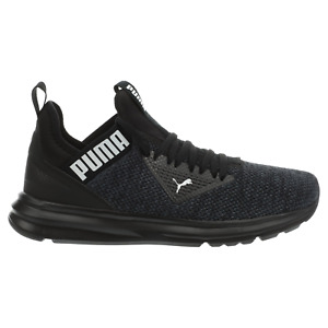 PUMA Men's Enzo Beta Woven Running Shoe Black