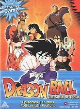 Dragon Ball - The Saga of Goku & Full Lenth Feature (DVD) READ DETAILS SHIPS NEX
