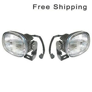 Front Set of 2 LH & RH Side Fog Lamp Assembly Fits Isuzu Rodeo