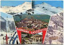 SARNANO SASSOTETTO (MACERATA), SALUTI CON 6 VEDUTE, 1980