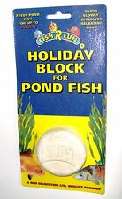Pond Holiday Vacation Two Week 14 Day Fish Food Block