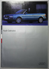 V13664 AUDI CABRIO - CATALOGUE - 07/94 - A4 - FR FR