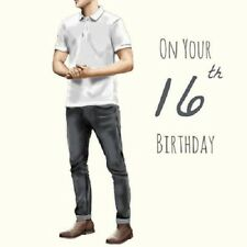 On Your 16th Birthday Greeting Card
