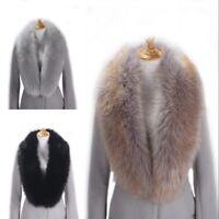 New Women Winter Faux Fur Collar Scarf Warm Vogue Neck Shawl Wrap Stole Scarves