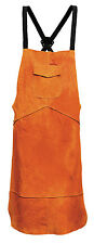 Portwest SW10  Leather Welding Apron - Golden Brown