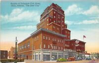 Gary Indiana 1946 Postcard Knights of Columbus Hotel