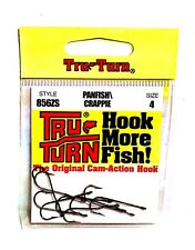 Tru-Turn Panfish / Crappie Size 4 Hooks