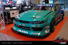 Universal Race Track Front Bumper SPLITTER 178CM fits Vauxhall Astra Corsa GTC
