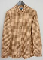 Men Ralph Lauren Casual Shirt Check Cotton L MIA29