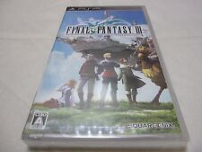 New 7-14 Days to USA. PSP Final Fantasy III Japanese & English Subtitles FF3