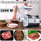 3200W Commercial Electric Home Meat Grinder Kitchen Food Sausage Mincer Stuffer photo