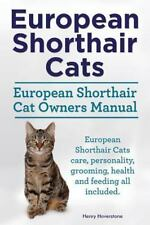 European Shorthair Cats. European Shorthair Cat Owners Manual. European.