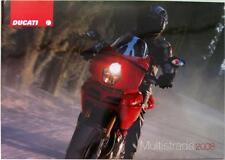 DUCATI Multistrada 1100cc - Motorcycle Sales Brochure - 2008 - Cod.917.1.206.1A