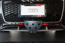 2014 - 2016 Audi RS7 - Removable License Plate Bracket