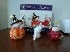 Fitz & Floyd Trick-or-treat Figurines 2005