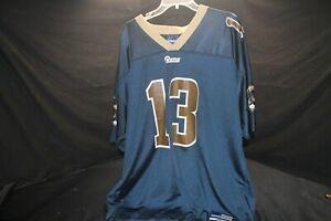 Kurt Warner 13 St. Louis Rams Adidas Jersey Size XXL