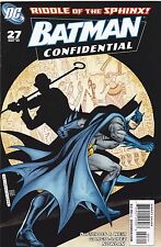 BATMAN CONFIDENTIAL #27 / RIDDLE OF THE SPHINX / DC COMICS / 2009