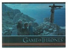2015 Game of Thrones Season 4 Foil Parallel Card # 2 Two Swords