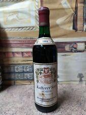 Vino 1969 Kalterer See Auslese 72cl 12%