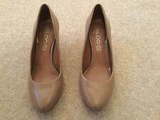 Aldo Size 36 Beige Mid-heeled Shoes