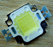 20000k 10 w LED chip 9-10v, 900 LM, High Power, cob, acuario, nuevo
