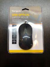 Targus AMU80US USB Optical Laptop Mouse