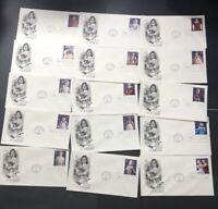 15 Art-Craft© Cachet Open Flap Excellent 32c -Scott#: 3151a-o-Classic Dolls 1014