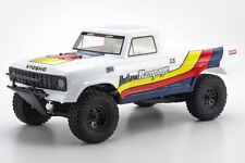 Kyosho - Outlaw Rampage 1/10 2wd 2SRA Electric Truck, White, Readyset