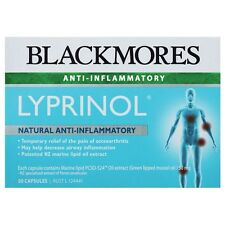 3XBlackmores Lyprinol 50 Cap Anti-inflammatory Supplement Arthritis Pain Relief