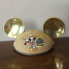 "50th Anniversary Disneyland Mickey Mouse Golden Ears - Monogrammed ""Laura"""