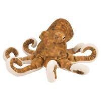 "12"" Octopus Soft Toy Animal - Wild Republic Cuddlekins 12 Plush"