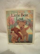 """COLLECTIBLE miniature """"Little Bear Lost"""" by Jane Hissey - HB w/ DJ - reprint"""