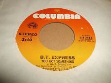 "B.T. EXPRESS "" WHAT YOU DO IN THE DARK "" 7"" SINGLE EXCELLENT FUNK 1978"