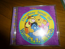 CHILDRENS AUDIO CD - THE MANY SONGS OF WINNIE THE POOH - 20 SONGS
