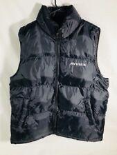 AVIREX BLACK Puffy Vest Size Men's Medium