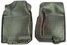 HUSKY CLASSIC FRONT FLOOR MAT LINERS 99-07 CADILLAC /CHEVY /GMC /H2 (BLACK)